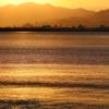 青森港の朝