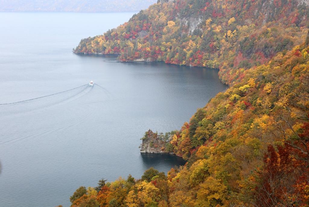 10月24日 十和田湖