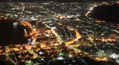 函館の夜景 3-1