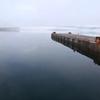 春 十和田湖の朝