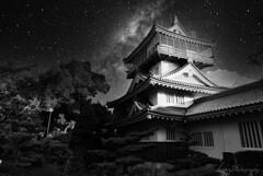 岩崎城の夜・・・