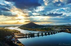 犬山城天守閣からの眺望・・・