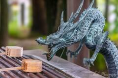 五社宮の龍