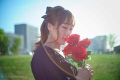 バラの似合う人・・・