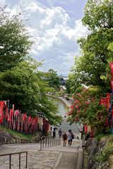 興福寺から猿沢池を望む