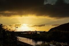 犬山市の夕暮れ・・・