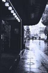 Rainy Tokyo