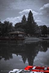 隼人池・・・