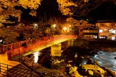 香嵐渓の秋色