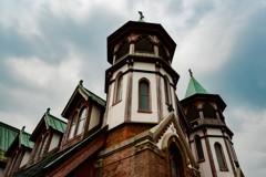 明治村にて「聖ヨハネ教会堂」