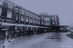 Rainy Tokyo Station