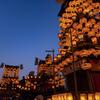 犬山まつり試楽祭(夜車山曳き出し)