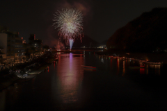 長良川鵜飼い開幕花火