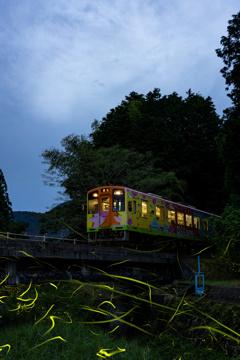 樽見鉄道蛍列車