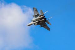 航空祭事前訓練F-15