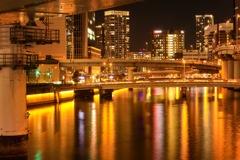 水の都 大阪(渡辺橋周辺)
