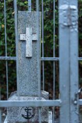 海軍墓地にて