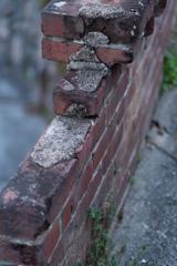 赤煉瓦塀ー1