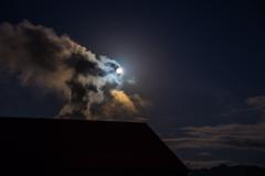昨晩のお月さん