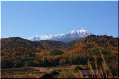 冠雪の御岳山