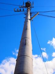電柱と空2