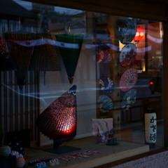 京都年の瀬散歩-祇園 Window shopping-