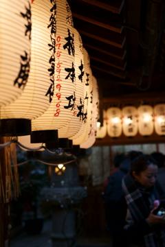 京都年の瀬散歩-献灯-