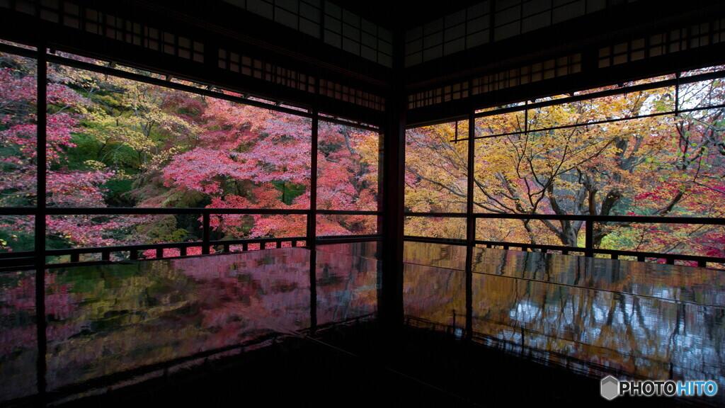 瑠璃光院reflection
