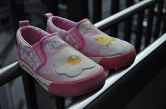 ちょっとシュールな愛靴。