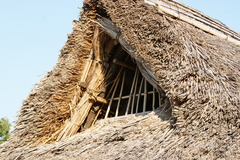 かやぶき屋根