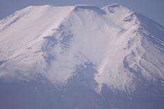 富士山にズーム