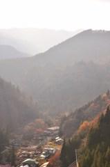 四万川ダムからの眺め