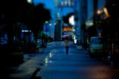 Blue rain Ⅱ
