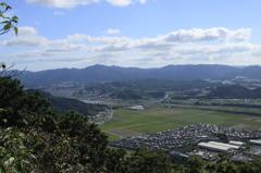 近江富士からの眺め