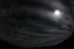 18日の南の夜空