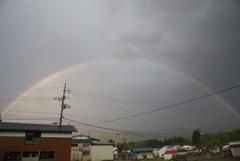幸運の虹!
