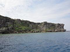 沖縄の万座毛です。