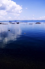 錦江湾の静寂