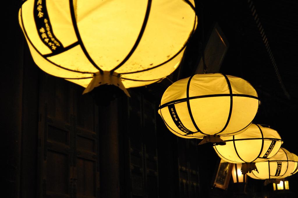 二月堂の灯