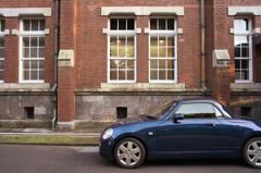 重要文化財と近代自動車