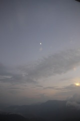 月と空とシムラ