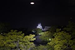 熊本城にUFO現る!?