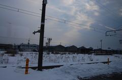 冬の山陰本線