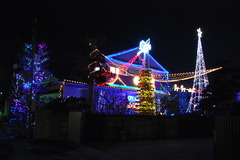 12月1日近所の家のイルミネーション