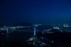 下関夜景の定番構図