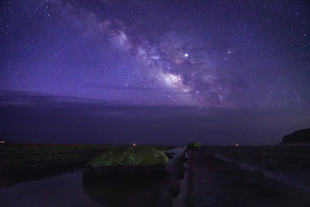 今年初の天の川撮影