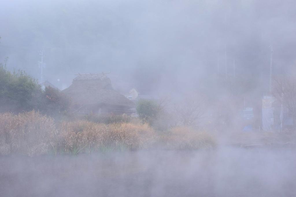 霧の向こうで