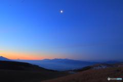 mooning moon