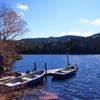 初秋の湖畔
