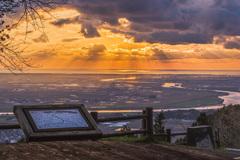 展望台から見る平野